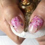 桜ネイル&ぷるるんカラー ~ジェルネイル~